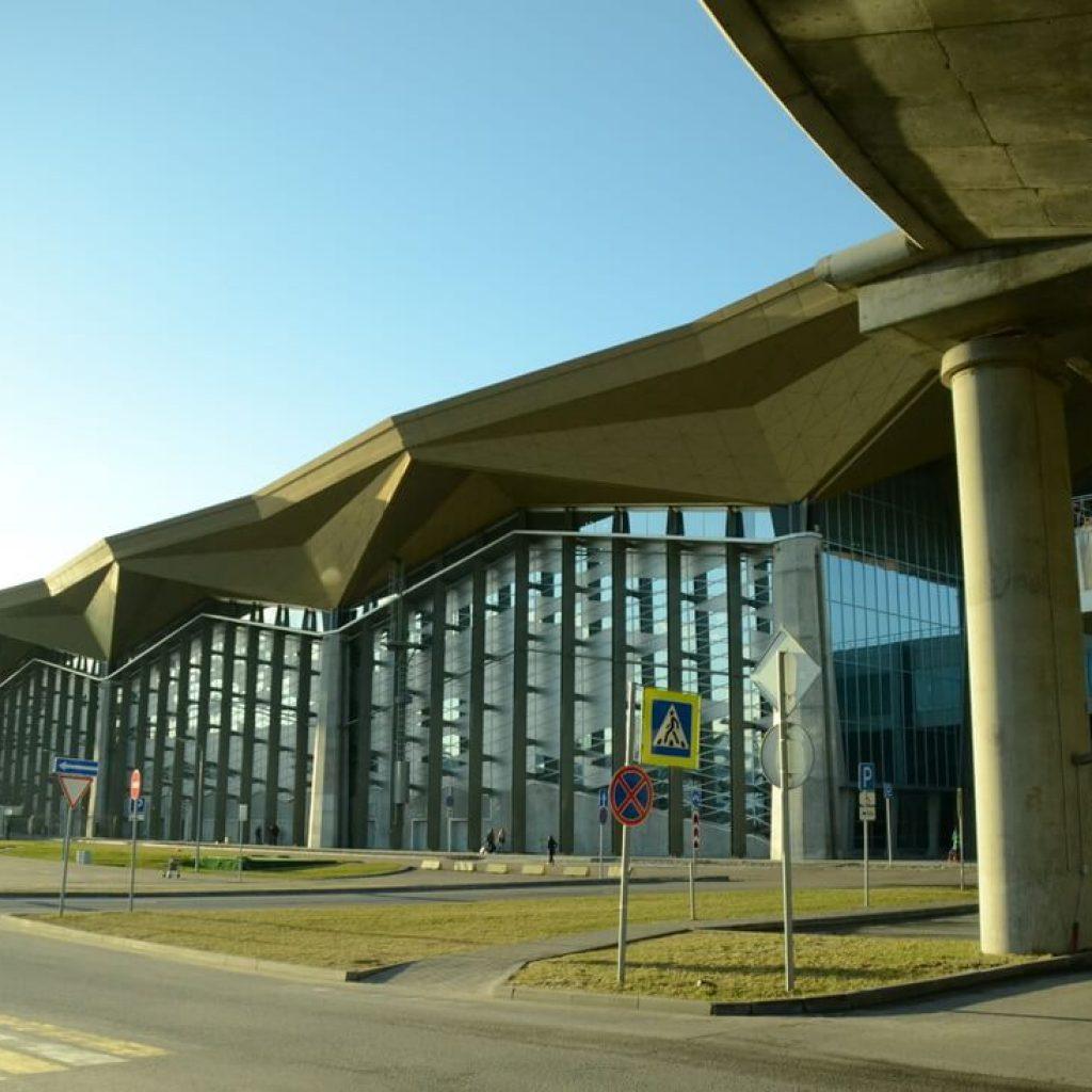 Новый терминал в аэропорту Пулково