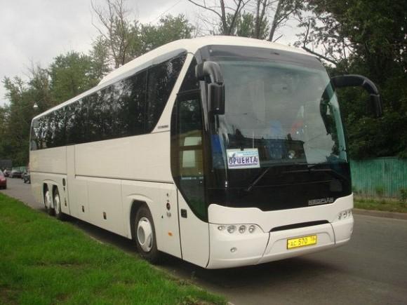 Из Петербурга в Финляндию ходят большие комфортабельные автобусы