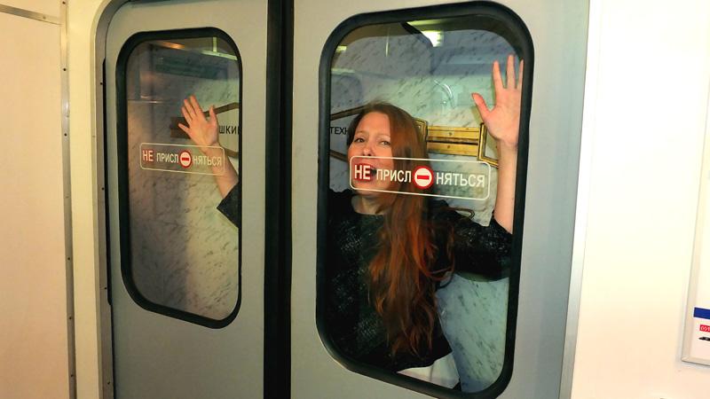 Такие шокирующие фото можно сделать в музее метро
