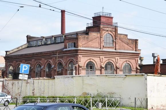 Ориентир - это здание, памятник промышленной архитектуры