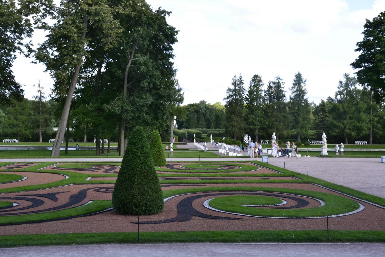 Ландшафтный дизайн в парке Пушкина