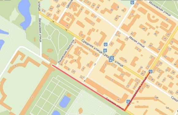 как идти от дворца к остановке маршруток, следующих в Петербург