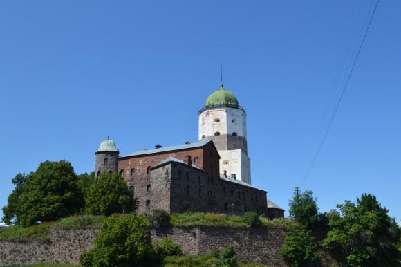 Рыцарский замок в Выборге