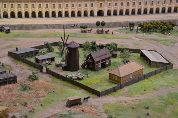 Петербург был с изрядной долей деревенщины
