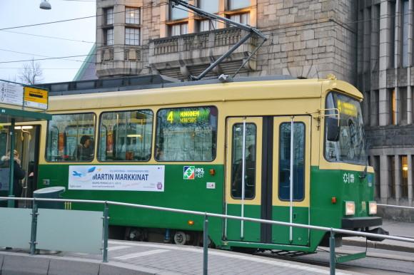 Трамвай в Хельсинки