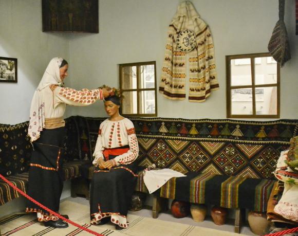 Парадная комната молдавского дома каса-маре