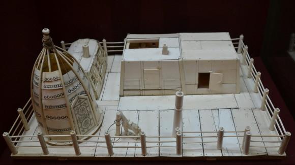 Модель якутского двора. Конец XIX века