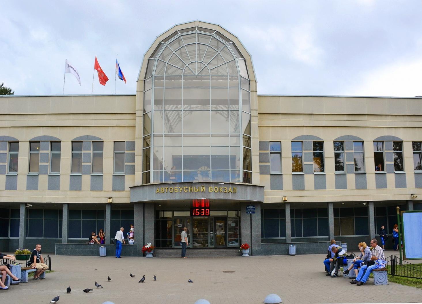 Центральный автовокзал на Обводном канале
