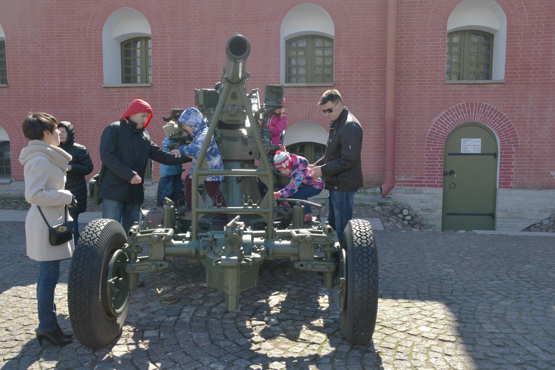 пушки возле Нарышкина бастиона