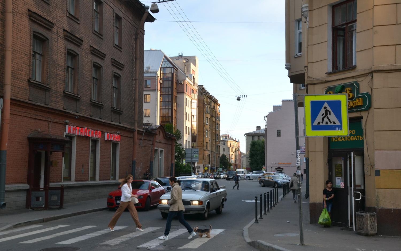 На Петроградской Стороне