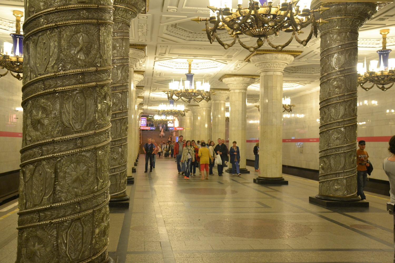 Экскурсия по станциям первой очереди петербургского метрополитена