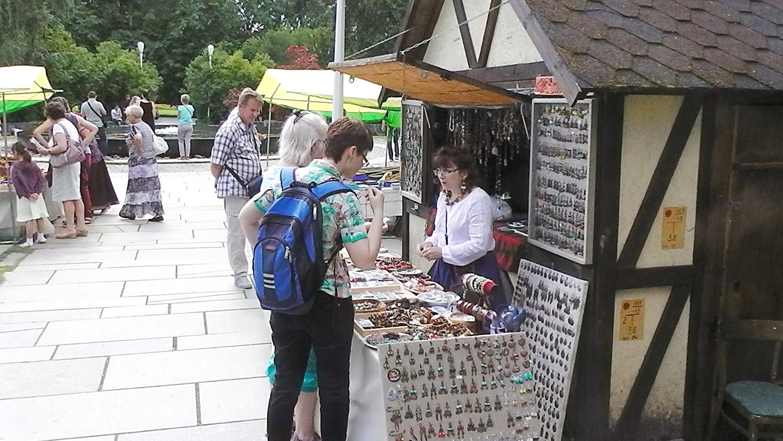 Сувенирные магазинчики
