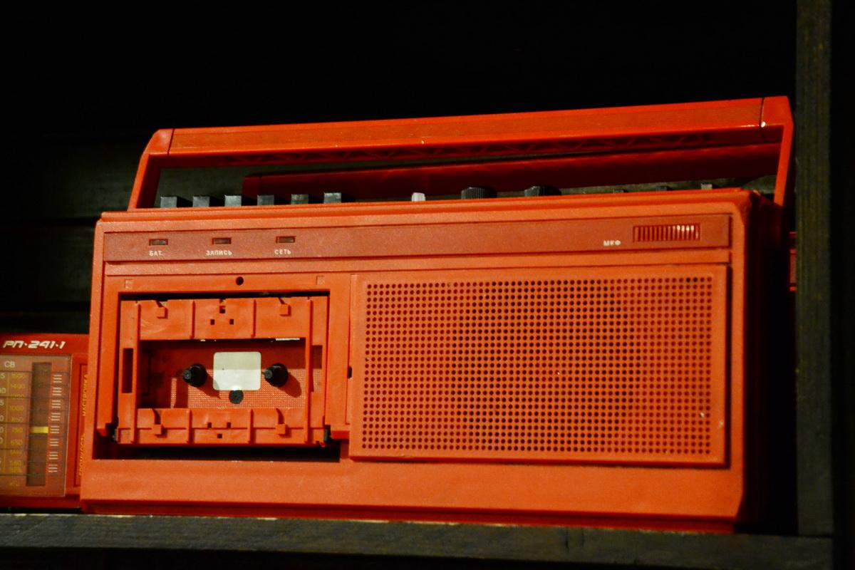 Магнитофон советских времен