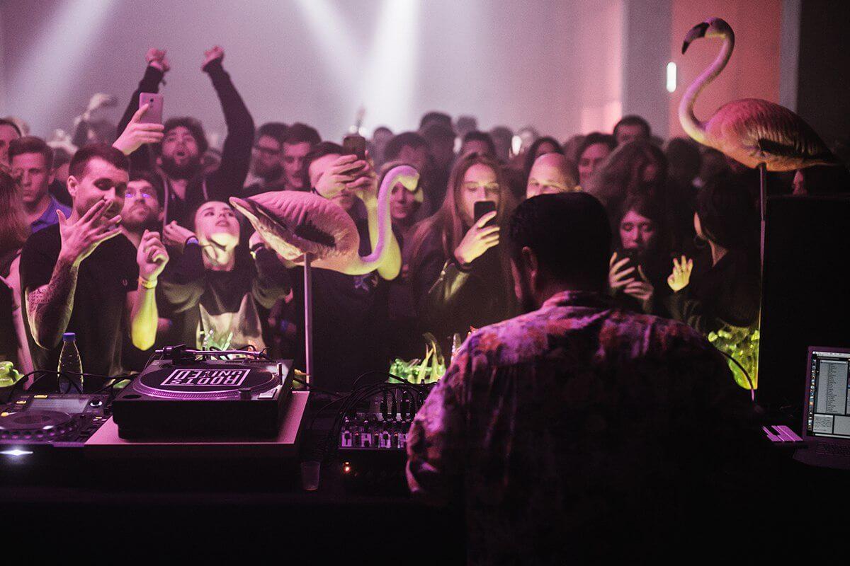 Серия масштабных музыкальных вечеринок OFF