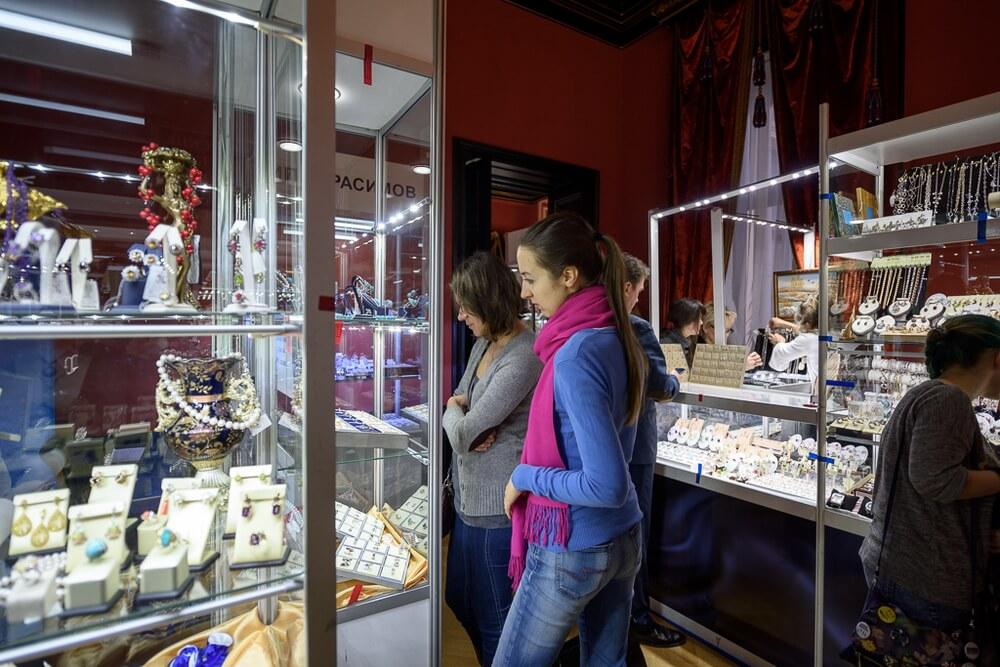Ювелирная выставка Сокровища Петербурга в 2017 году