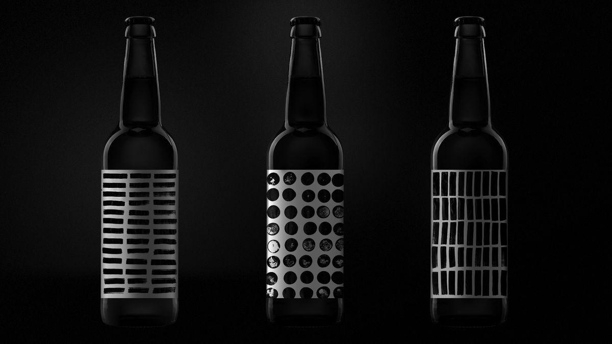 Дизайнерское пиво от Терминал Дизайн