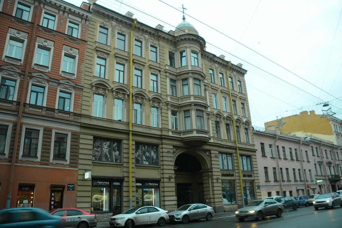 Дом, где жил Распутин в Петербурге