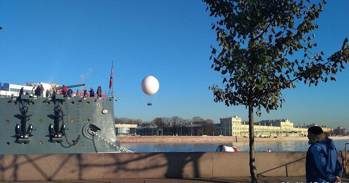 Свидание на воздушном шаре: страшно роментично