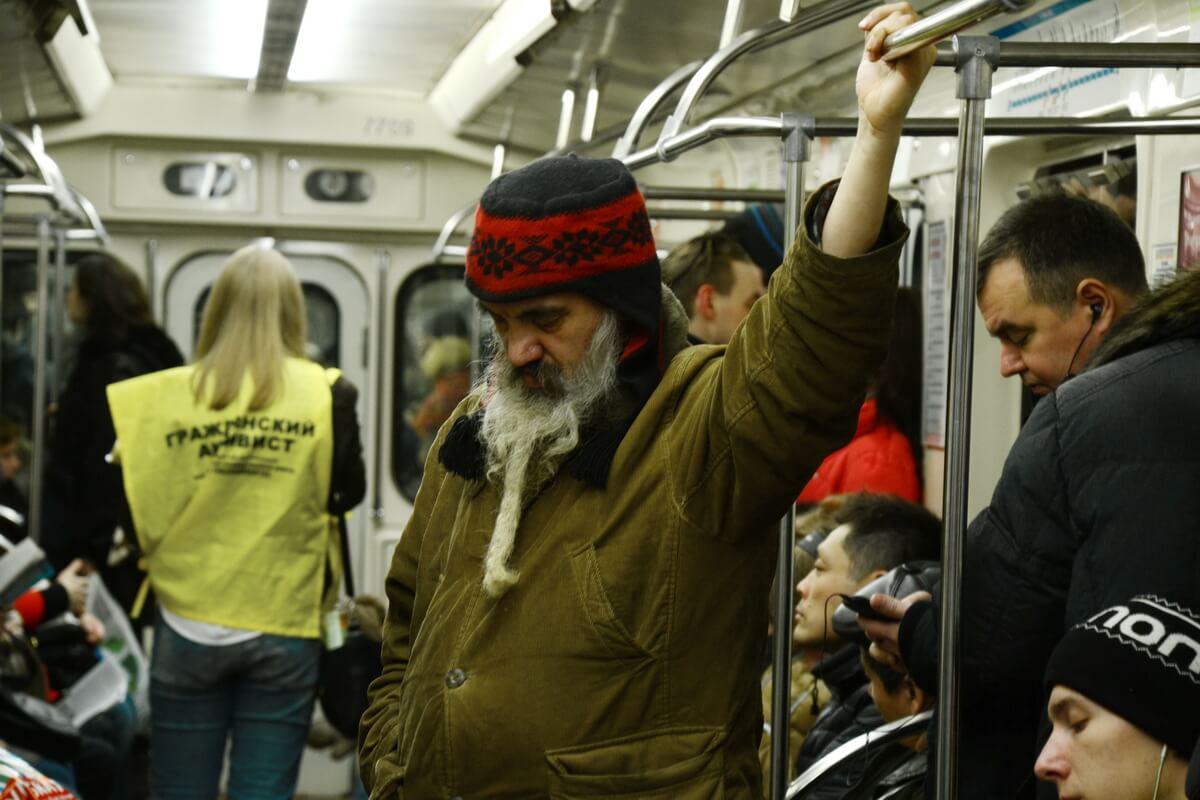 Прилично ли фотографировать пассажиров подземки?