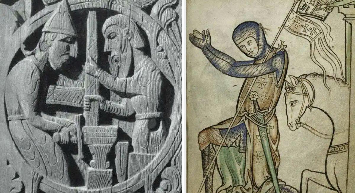 Оружие в раннем средневековье стало сакральным объектом