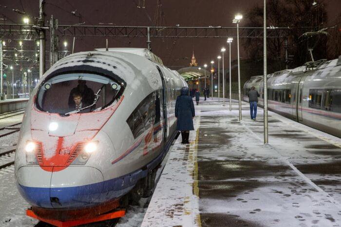 `Сапсану` не страшны российские морозы