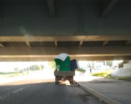 151-й фургон с биотуалетом на борту