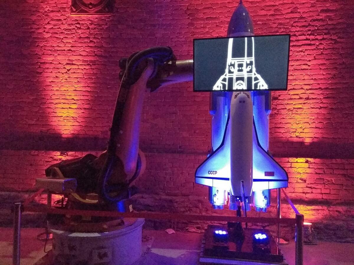 Экспозиция на выставке Планетария 1