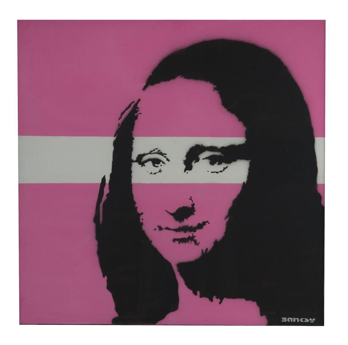 Banksy Mona Lisa