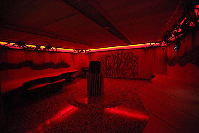Африканская баня в Питерлэнде