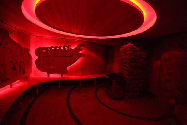 Скифская баня в Питерлэнде