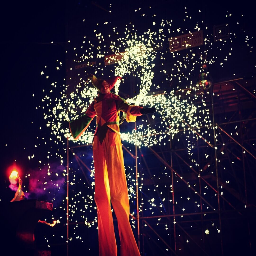 Фестиваль Огня на Стрелке В.О.