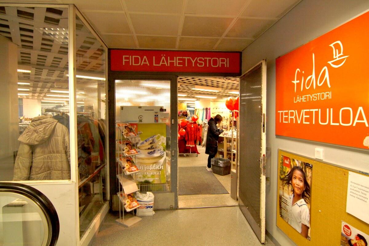 Секонд-хенд FIDA в Хельсинки
