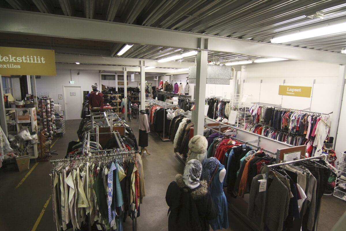 Одежда дешевле на 1-3 евро по сравнению с UFF и FIDA