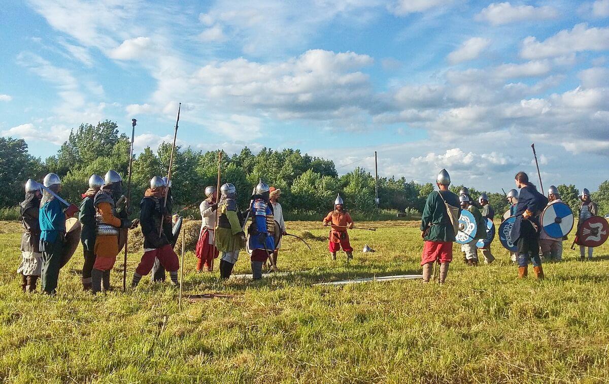 Фестиваль `Старая Ладога — первая столица Руси`