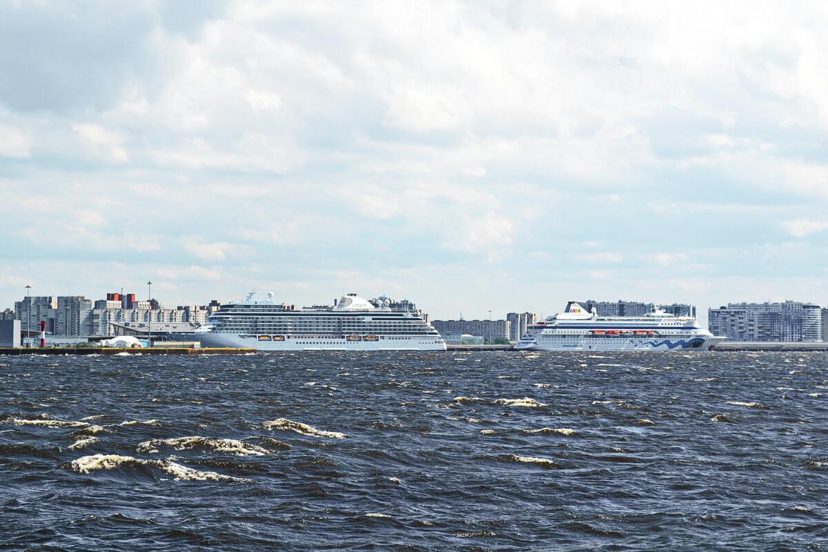 пассажирский круизный порт `Морской фасад`