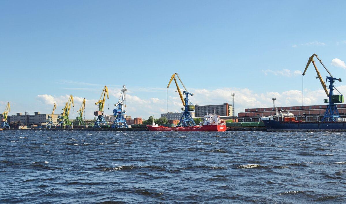 торговый порт СПб