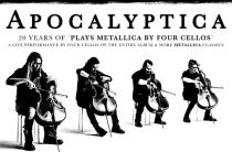 Apocalyptica выступает 27 марта в ДК Ленсовета