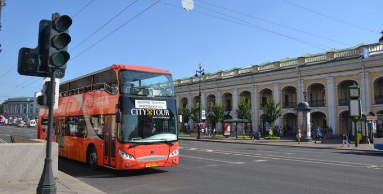 Автобус «Сити Тур» в Петербурге