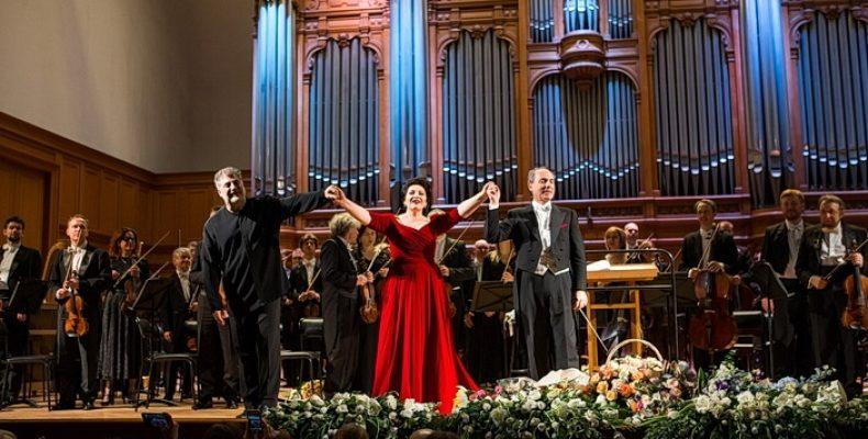 Сольный концерт оперной певицы Хиблы Герзмава в Большом зале Филармонии 22 сентября