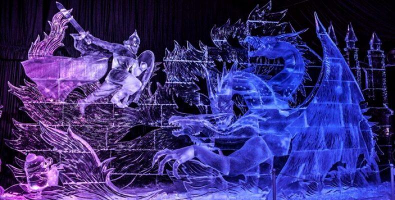 Фестиваль ледовых скульптур 23 декабря — 4 февраля
