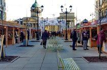 Книжная ярмарка в центре Петербурга