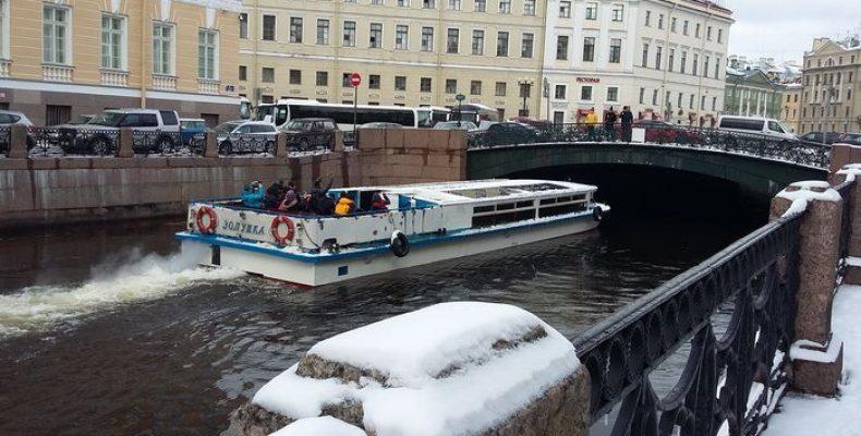 Навигация в Петербурге открывается в любую погоду!
