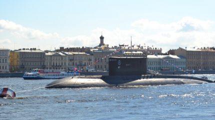Морской парад в честь Дня ВМФ в Петербурге 2018. Нева и Кронштадт 29 июля