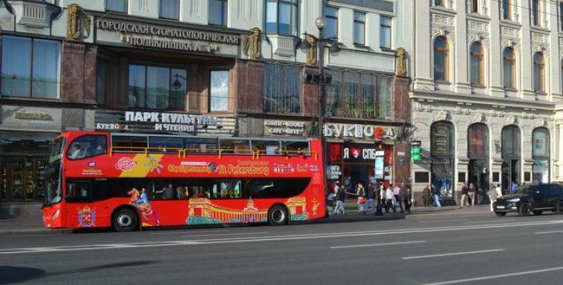 City Sightseeing запустил в Петербурге второй маршрут