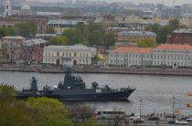 День ВМФ в Петербурге 30 июля