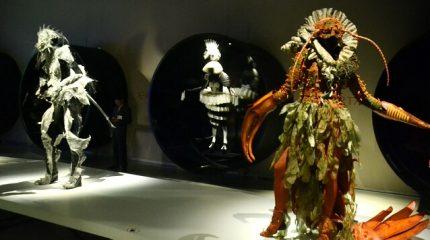 Невероятные платья на выставке World of WearableArt в Эрарте