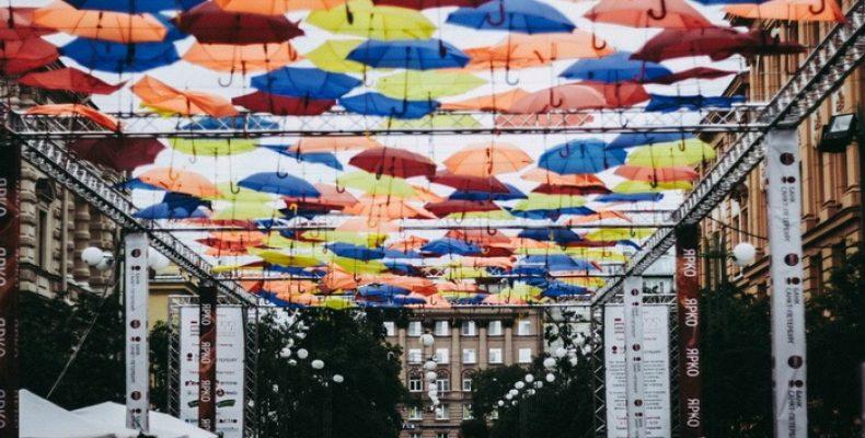 Парящие зонтики в 2017 году станут еще и музыкальными