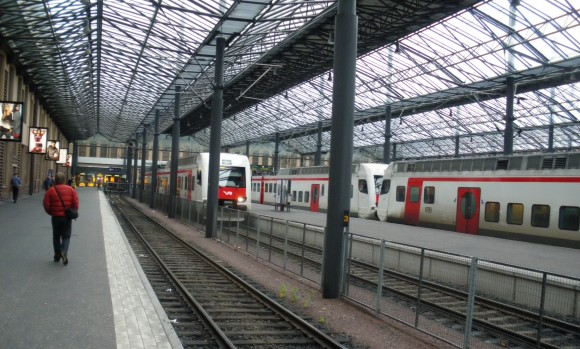 железнодорожный вокзал в Хельсинки