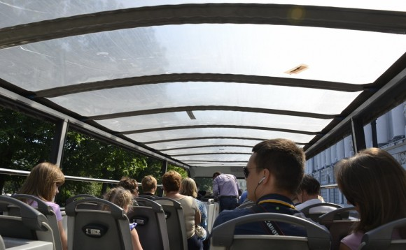 верхняя палуба автобуса сити тур