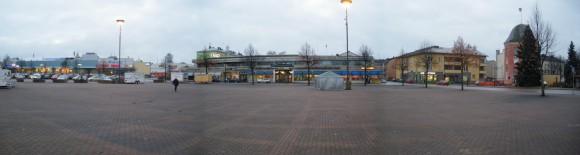 типичный финский тихий чистый городок